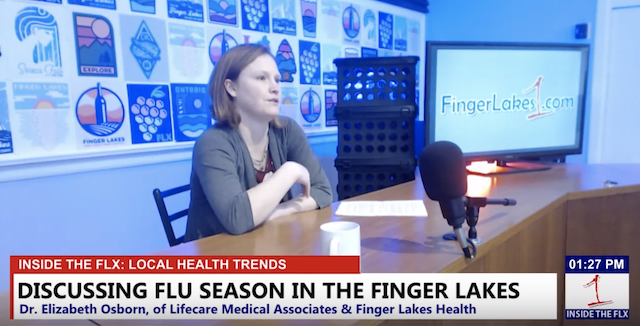 Discussing flu season in the Finger Lakes .::. Inside the FLX 1/17/19