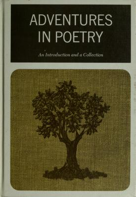 Cover of: Adventures in poetry. by Edwin C. Custer