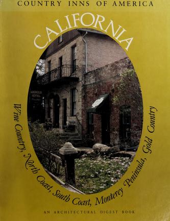 Cover of: California, a guide to the inns of California | Andrews, Peter