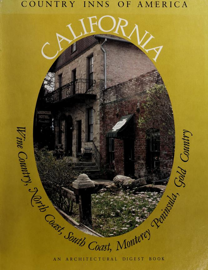 California, a guide to the inns of California by Andrews, Peter