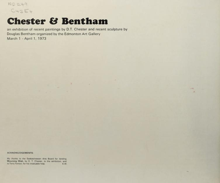Chester & Bentham by Edmonton Art Gallery.