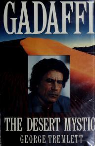 Cover of: Gadaffi   George Tremlett