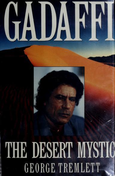 Gadaffi by George Tremlett
