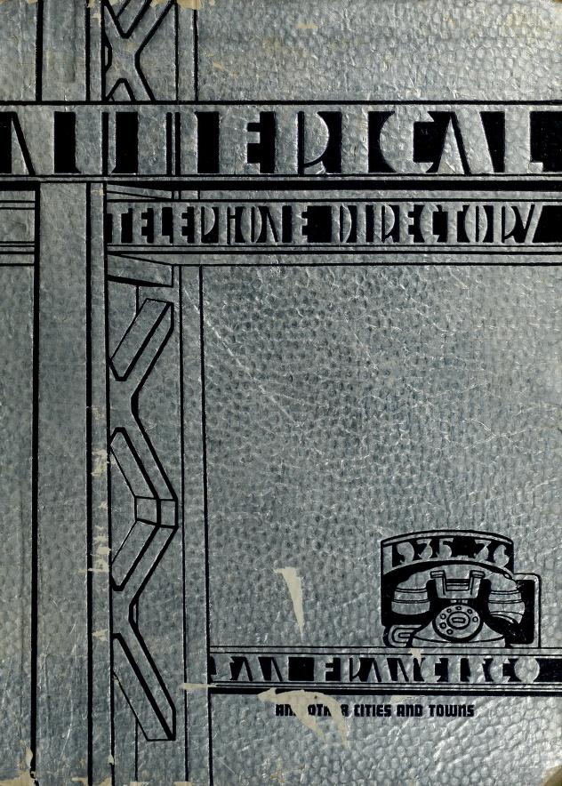 Numerical telephone directory by Fred S. Leon