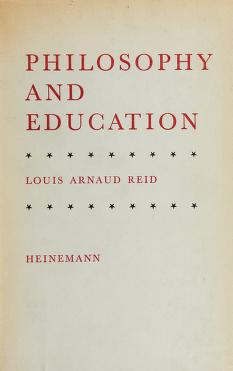 Cover of: Philosophy and education | Louis Arnaud Reid