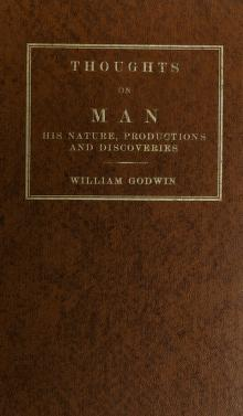 Cover of: Thoughts on man | William Godwin